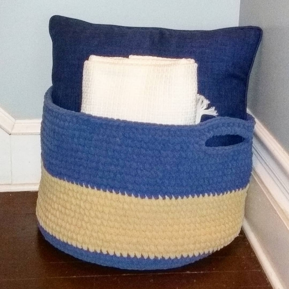 Hand Crafted Other - Decorative Crocheted Basket